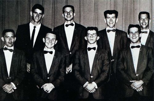 John Fred (Top left) and The Playboys - 1959